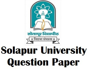 Solapur University Previous Year Exam Papers