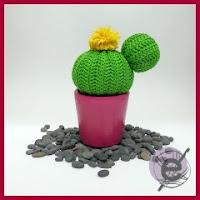 Cactus redondo amigurumi