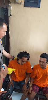 Polsek Kota Baru Berhasil Menangkap 2 Orang Pelaku Pencurian Dengan Pemberatan