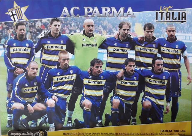 AC PARMA TEAM SQUAD 2004