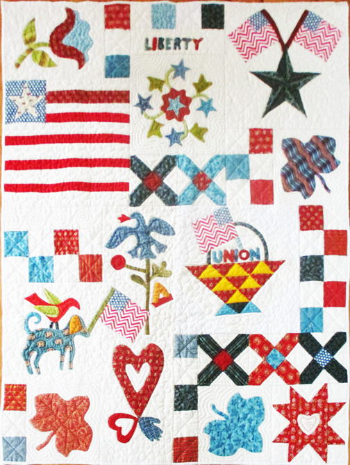 Civil War Quilts: Setting The Yankee Diary Quilt
