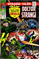 Strange Tales v1 #155 nick fury shield comic book cover art by Jim Steranko