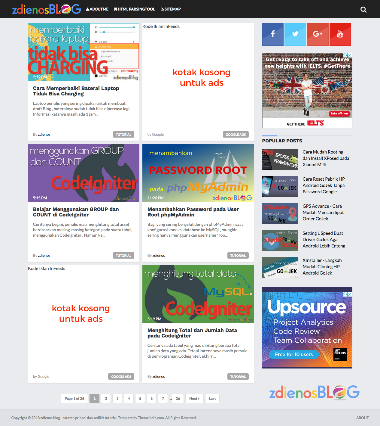 Cara Memasang Iklan In-Feed Ads Google AdSense pada ...