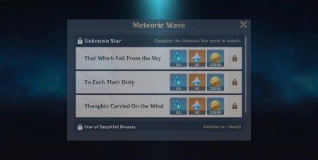 Genshin Impact - Fading Stars Event Guide