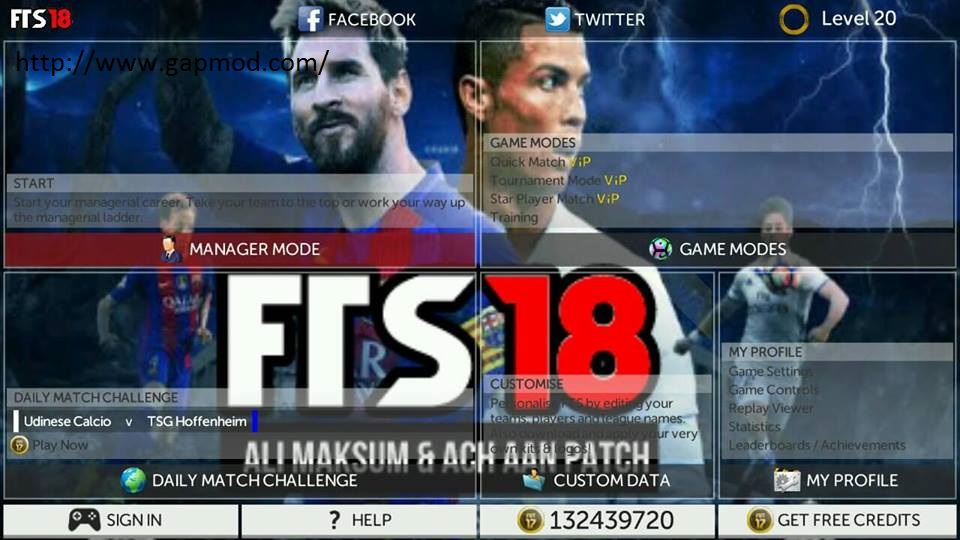 download game fts 18 mod apk data obb