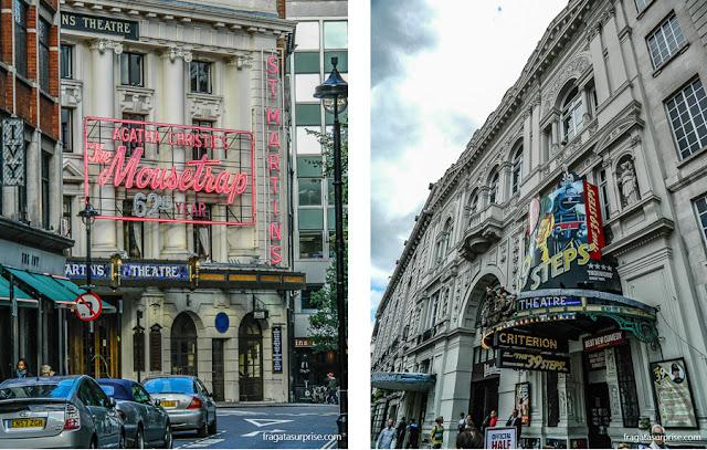 Peças de teatro em Londres