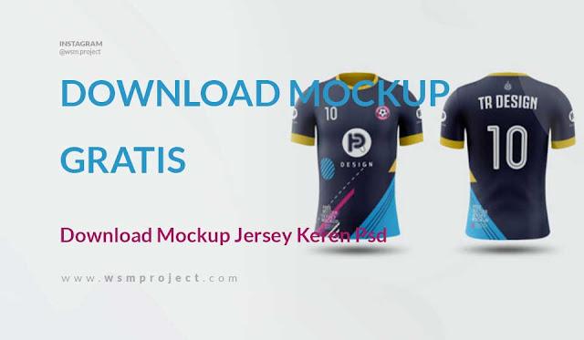 download mockup jersey keren