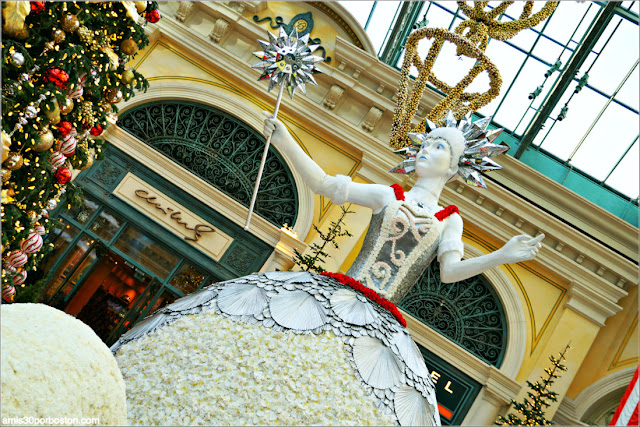 Holiday Glamour 2017 del Hotel Bellagio: Princesa de Hielo