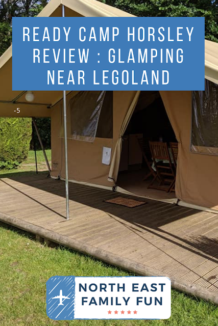Ready Camp Horsley Review : Glamping near LEGOLAND