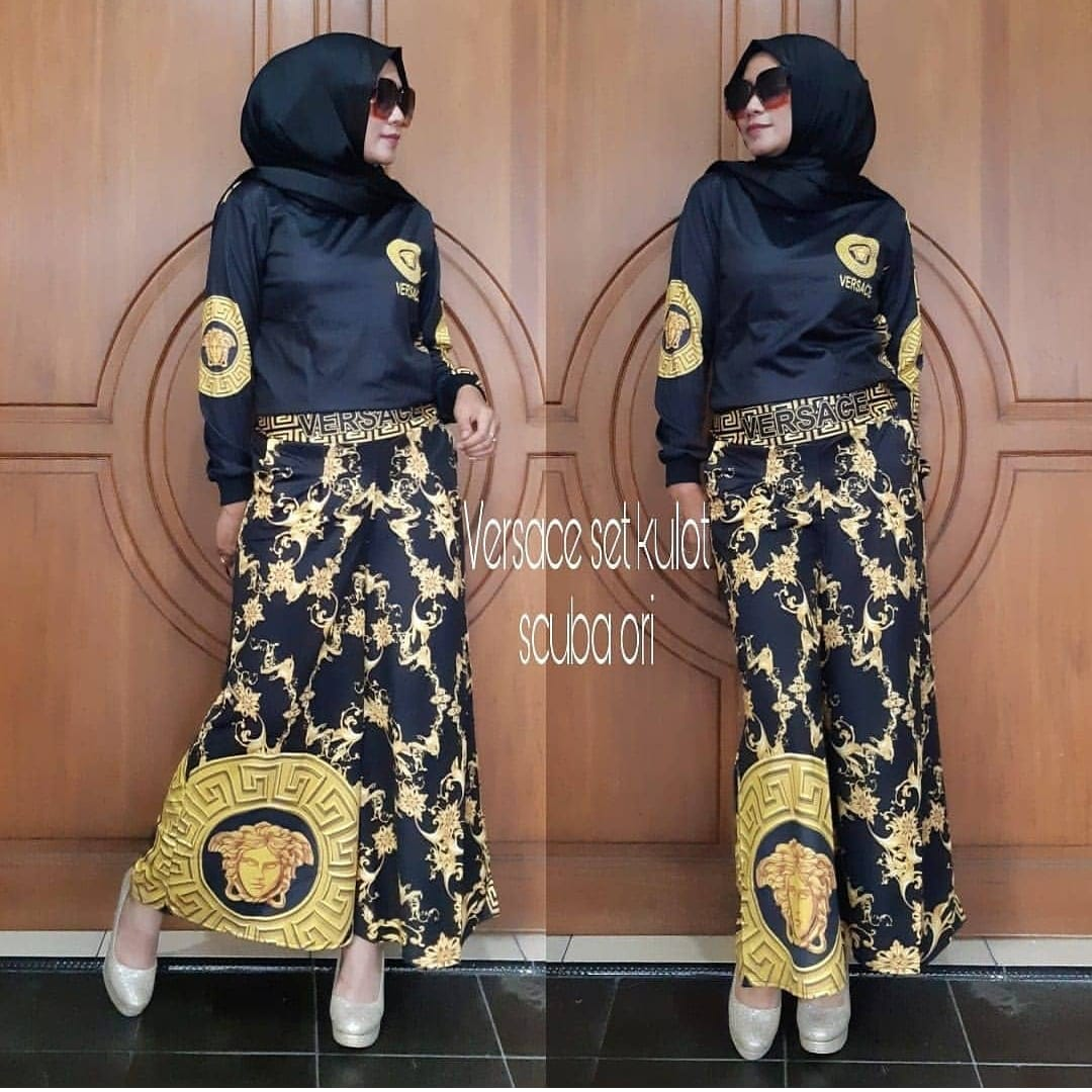 Tatuis Hijab Damp039amour 058 Andieen Shopping Versace Kulot Tuesday July 17 2018
