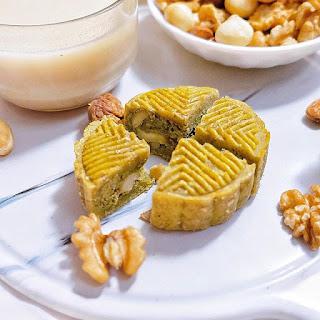 Cách làm bánh trung thu healthy 126kcal 3