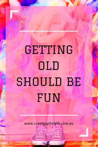 "Lately I've been thinking about what it would be like to be truly ""old"". Strangely enough, getting older has a whimsical allure for me."