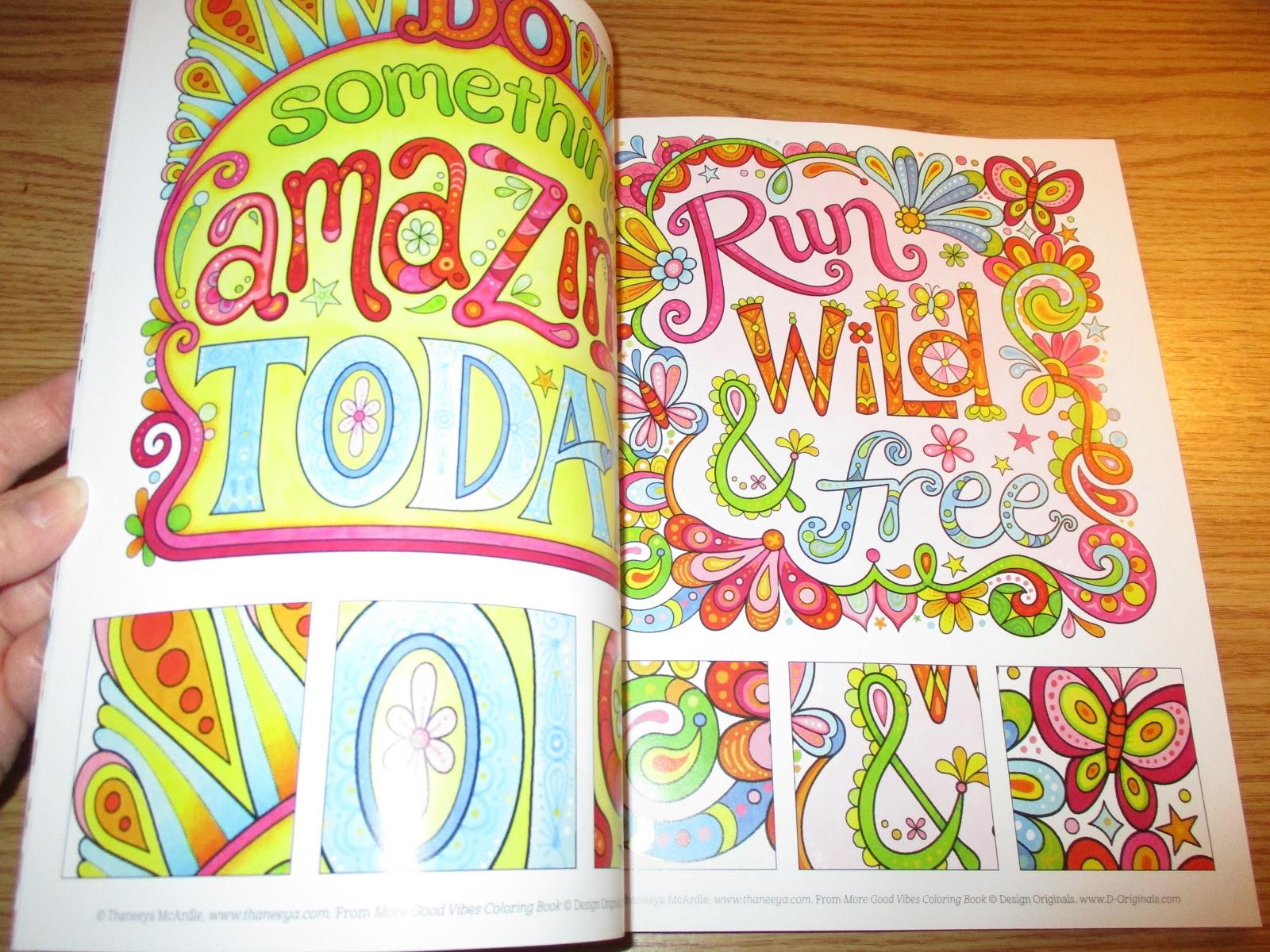 Design Originals-Good Vibes Coloring Book