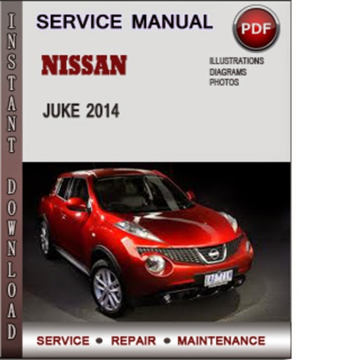 service manual for nissan juke