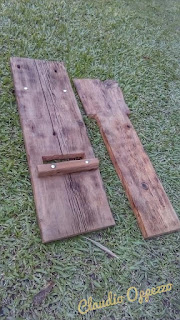 Silla vikinga de madera DIY