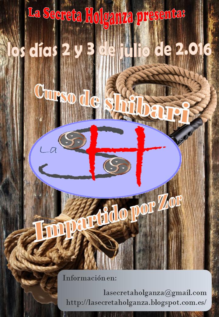 Curso de Shibari (Zor) en La Secreta Holganza (Bilbao) @ Bilbao   País Vasco   España