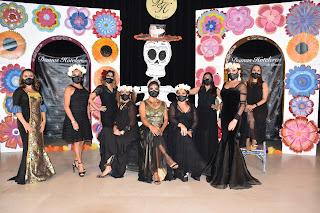 Paulina Salazar, Sonia de la Peña, Paola Marín, Noemí Constandse, Josefina Sorín, Nenina Albor, Elba González, Lulú Vara y Tanya Velasco.