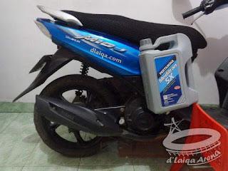 Yamaha Mio J dan Pertamina Meditran SX