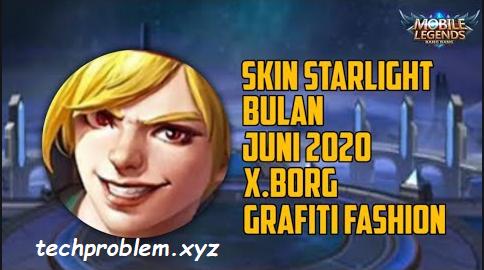 Bocoran Skin Starlight Member Bulan Juni 2020