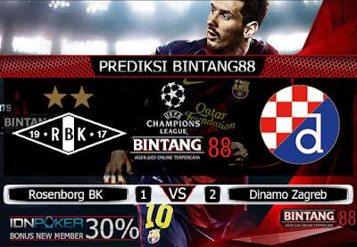 Prediksi Skor Rosenborg BK Vs Dinamo Zagreb 28 Agustus 2019