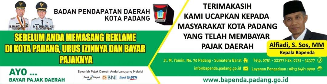 Iklan Bapenda Kota Padang