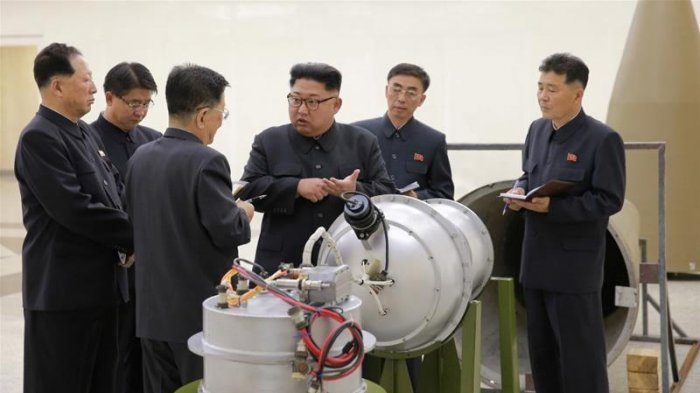 Kim Jong Un Pantau Uji Coba Senjata Paling Kuat Di Korut