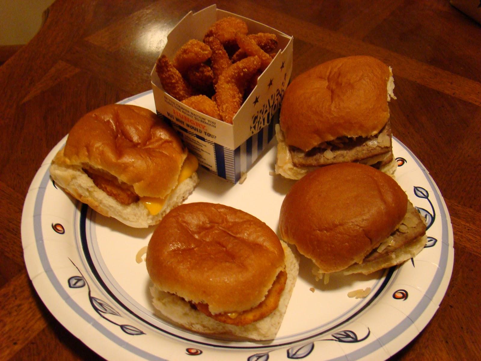 White Castle Veggie Burger Review - YouTube |White Castle Burger