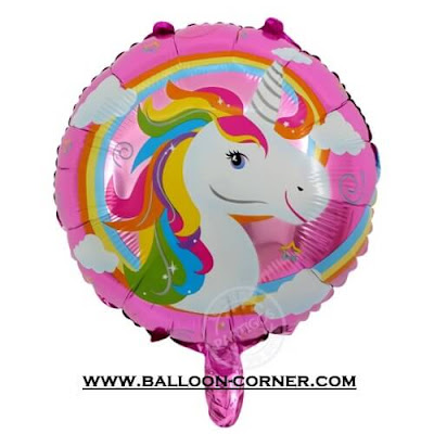 Balon Foil Bulat UNICORN
