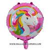 Balon Foil Bulat UNICORN