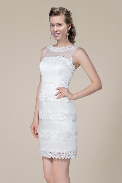vestido de noiva com tela e renda