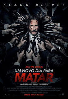 """Poster do filme """"John Wick - Um Novo Dia Para Matar"""""""
