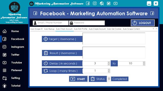 Cara Cepat Cek Akun Facebook Secara Automatis