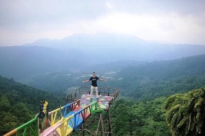 Wisata Alam Rumah Pohon Pabangbon, Panorama dari Ketinggian Melihat Keindahan Kota Bogor