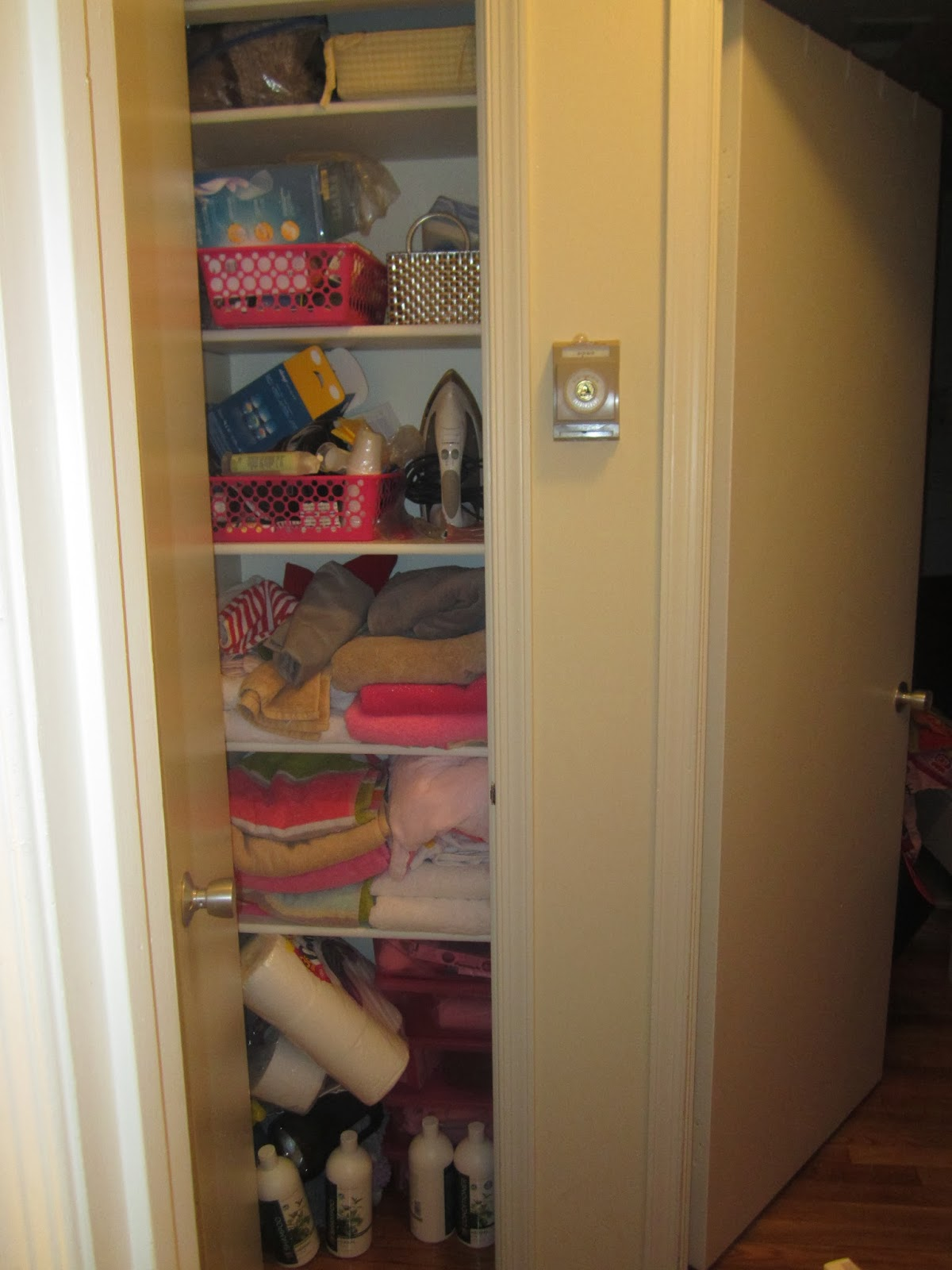 The First Commandment: Decently And In Order: Linen Closet