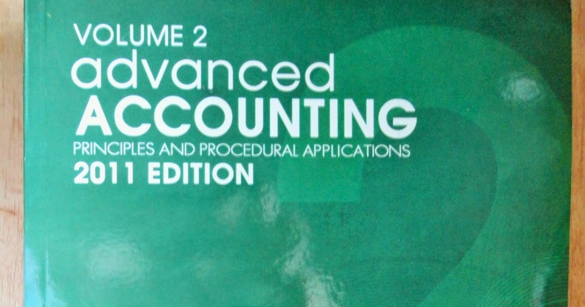 advanced accounting review exam 1 Overview acct 451 is designed to cover a selected group of advanced financial accounting topics more than half of the course is devoted to the related topics of.