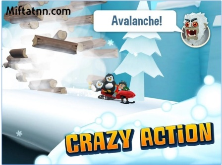 Game Arcade Action Android Keren Ski Safari 2 APK