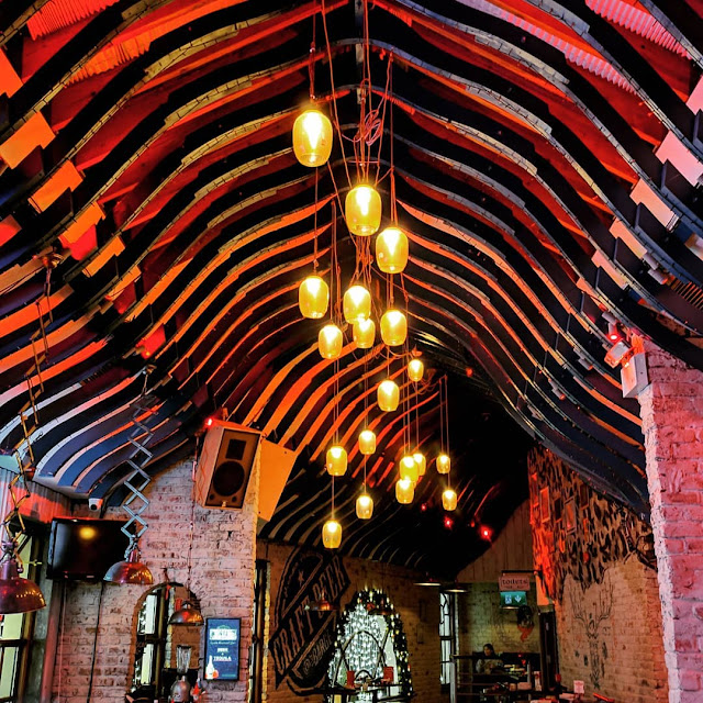 One day in Dublin itinerary: the interior of the Barge Inn