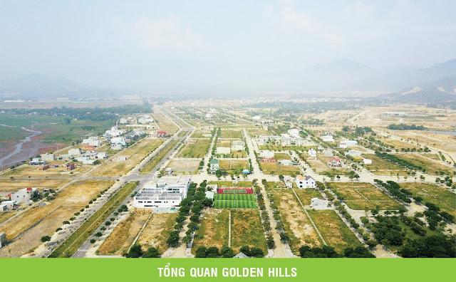 Toàn cảnh đất nền Golden Hills