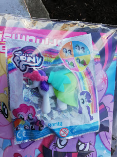 My Little Pony Bridesmaid Rarity Egmont Magazine Figure