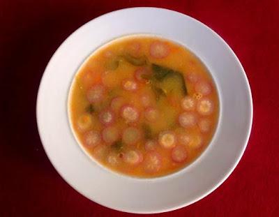 Sopa de Rabanetes
