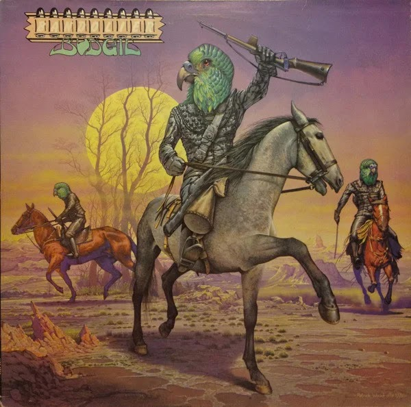 Budgie - Bandolier (1975, Hard Rock, Heavy Metal)