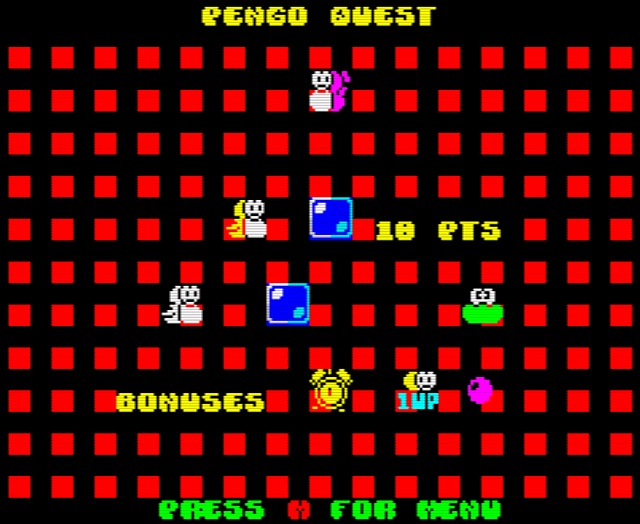 Pengo Quest - Cute arcade like game for     - Indie Retro News