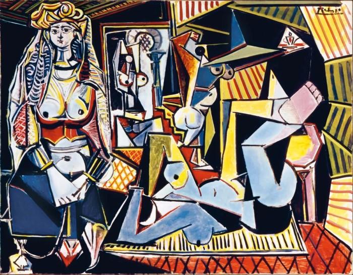 """Пабло Пикассо. """"Алжирские женщины"""""""