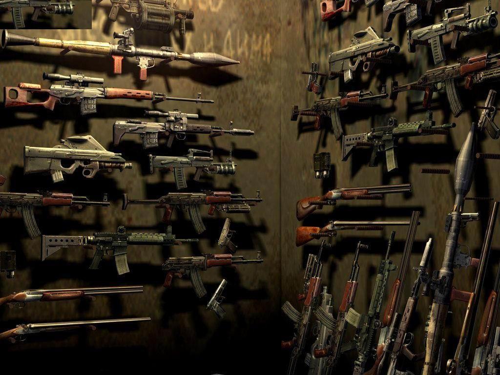 gun wallpaper for walls - photo #29