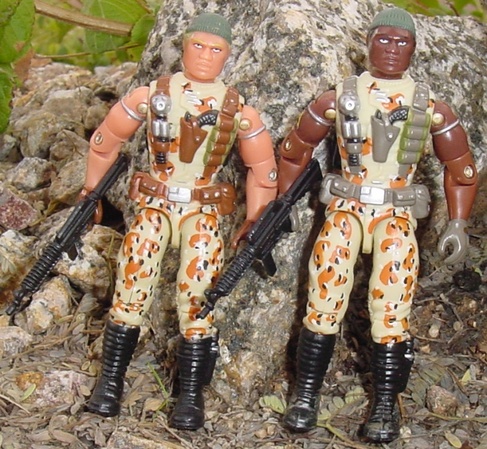 2004 Unproduced Caucasian Desert Patrol Stalker, TRU Exclusive, Midnight Chinese,