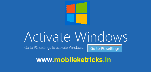 How to Activate Window 7, Window 8, Window 10 for free