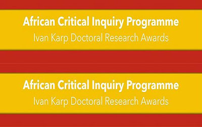 Ivan Karp 2018/19 Doctoral Research Awards for African Students in South African Ph.D Programmes
