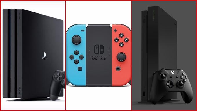 Sorteio Concorra a um Xbox One, PS4 ou Nintendo Switch!!