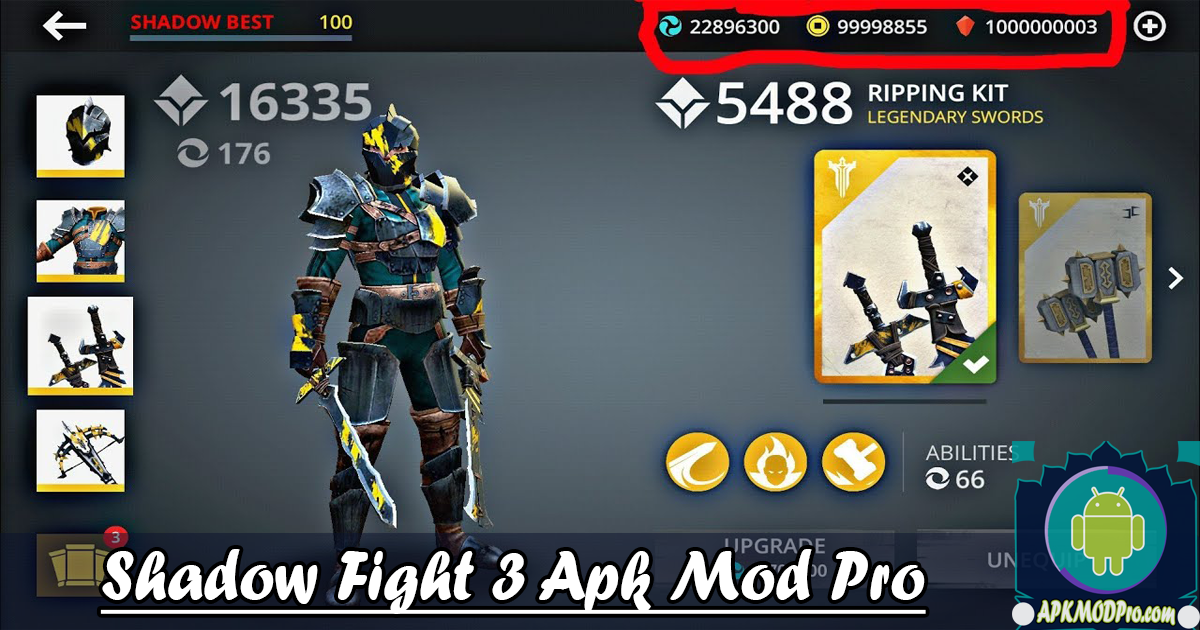 Download Shadow Fight 3 MOD APK v1.20.0 (Frozen Enemy) Terbaru 2020