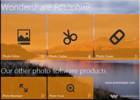 يبحث العديد من الأشخاص، عن مغير ومحرر أسهل لخلفية الصورة، ولحسن الحظ ، فإن Wondershare Fotophire  هو برنامج من هذا القبيل.